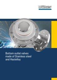 TE BAV Stainless steel - Düker GmbH & Co KGaA