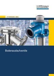Bodenauslaufventile - Düker GmbH & Co KGaA