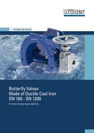Brochure Butterfly Valves - Düker GmbH & Co KGaA