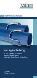 Verlegeanleitung TYTON ® SIT - Düker GmbH & Co KGaA