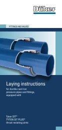 laying instructions - Düker GmbH & Co KGaA