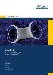 TE E800 D - Düker GmbH & Co KGaA