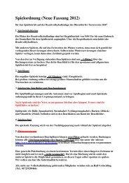 Download der Spielordnung (PDF-Version) - Düsseldorfer ...