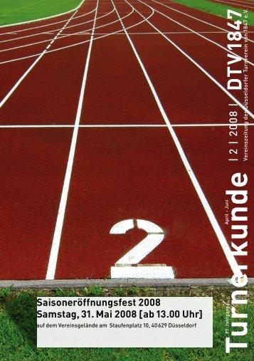 Ausgabe 01 2008 - Düsseldorfer Turnverein von 1847 eV