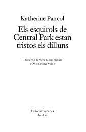 Els esquirols de Central Park estan tristos els dilluns - Editorial ...