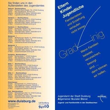 Gradlinig (neue Farben) - Duisburg