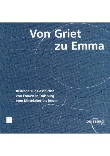 von Griet zu Emma  - Duisburg