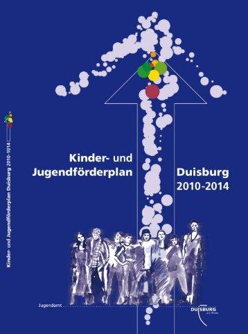 Kinder- und Jugendförderplan 2010 - 2014 - Duisburg