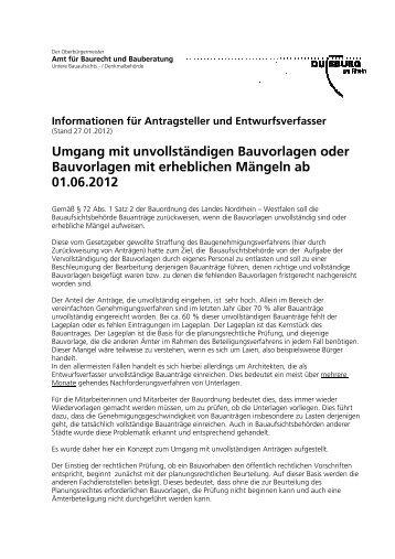 Was Sind Markisen Im Sinne Der Landesbauordnung Duisburg