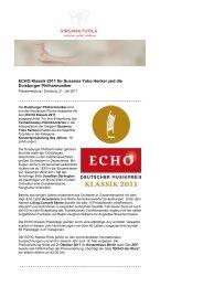 Virginia Tutila - Newsletter - Die Duisburger Philharmoniker
