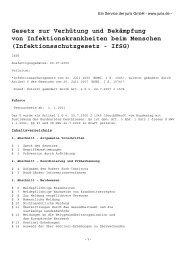 Infektionsschutzgesetz - Duisburg