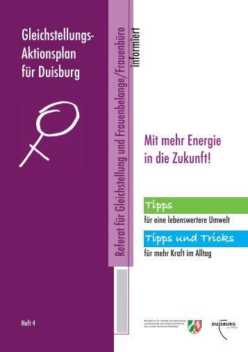 Mit Energie in die Zukunft - Duisburg