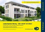 M.Dumberger - Mehrfamilienhaus Lenbapalais Mering - Grundrisse ...