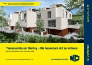 Exposé Reihenhäuser Mering Theresienstraße  | M. Dumberger ...