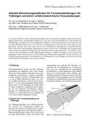 Berechnungsmethoden für Tuebbinge - Ingenieurbüro Prof ...