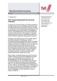 Diese Medieninformation als PDF (82 KB) - DVG  Duisburger ...