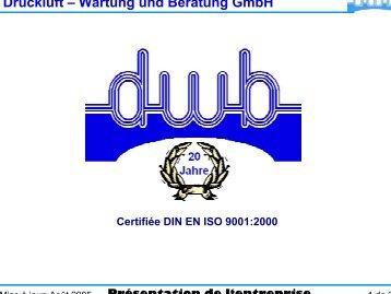 Druckluft – Wartung und Beratung GmbH - DWB Druckluft Wartung ...