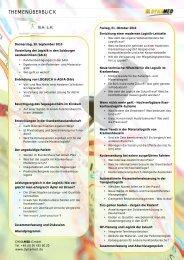 Programm - DYNAMED GmbH