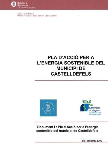 El Pla d'Acció per a l'Energia Sostenible del municipi De Castelldefels