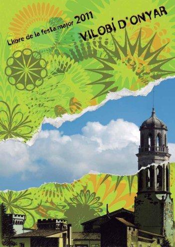 Llibre de la Festa Major de Vilobí d - Diputació de Girona