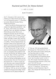 Nachruf auf Prof. Dr. Heinz Scherf - Deutsche  Zoologische ...