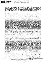 SINC@DIV SINDICATO DOS CONCESSIONÁRIOS E ... - Sincodiv SP