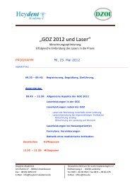 2012 05 2 Programm - Deutsches Zentrum für orale Implantologie eV
