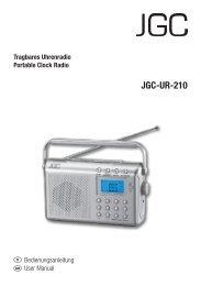 JGC-UR-210 - E2 Fachhandels & Reparatur Servicecenter | Start