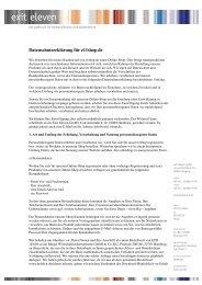 Datenschutzerklärung für e11shop.de