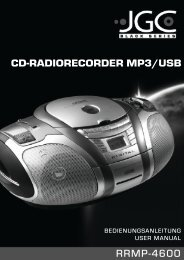 cd-radiorecorder mp3/usb - E2 Fachhandels & Reparatur ...
