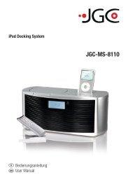 JGC-MS-8110 - E2 Fachhandels & Reparatur Servicecenter | Start