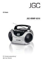 JGC-RRMP-8310 - E2 Fachhandels & Reparatur Servicecenter | Start