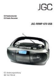 JGC-RRMP-670 USB - E2 Fachhandels & Reparatur Servicecenter ...