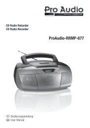 ProAudio-RRMP-677 - E2 Fachhandels & Reparatur Servicecenter ...