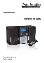 ProAudio-MS-5611E - E2 Fachhandels & Reparatur Servicecenter ...