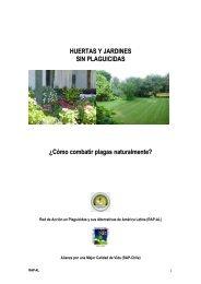 Huertas y jardines sin plaguicidas. - RAP-AL