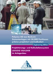 Polysius AG aus Beckum - EAS Engineering Automation Systems ...