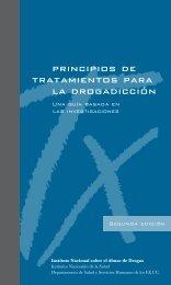 principios de tratamientos para la drogadicción - National Institute ...