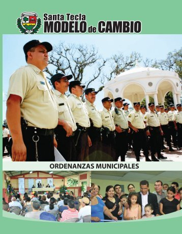 Ordenanza Contravencional del Municipio de Santa Tecla ...