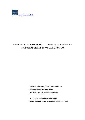 camps de concentració i unitats disciplinàries de treballadors a l ...