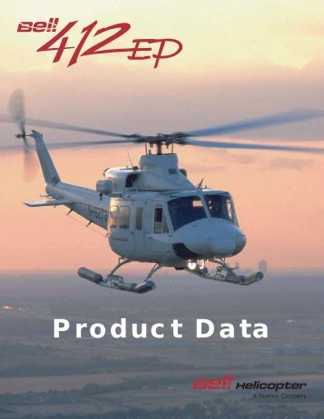 BELL 412EP PRODUCT DATA (October 2002) - EAS Helicopter