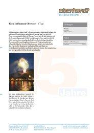Rhein in Flammen Oberwesel - Eberhardt Reisen