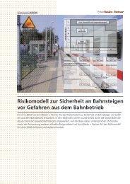 Risikomodell zur Sicherheit an Bahnsteigen vor Gefahren aus dem ...