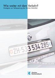 Wie weiter mit dem Verkehr? - Ernst Basler + Partner AG