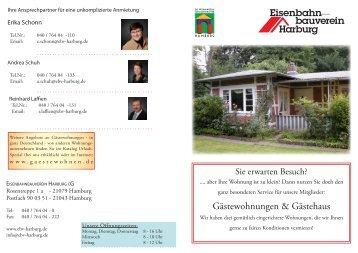 Gästewohnungen & Gästehaus - Eisenbahnbauverein Harburg