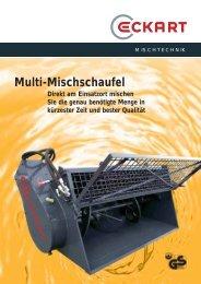 Multi-Mischschaufel - Eckart Maschinenbau