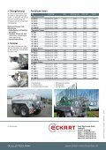 Vakuum-/Pumptankwagen - Eckart Maschinenbau - Seite 4