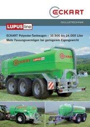 Polyestertankwagen - Eckart Maschinenbau