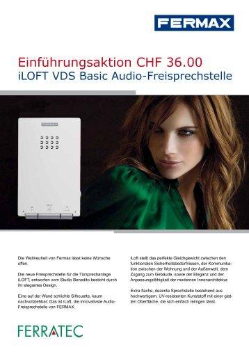 Einführungsaktion CHF 36.00 - Ferratec AG