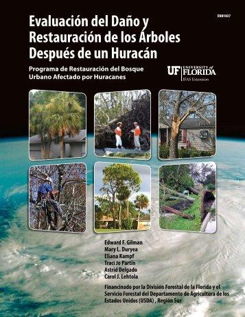 Evaluación del Daño y Restauración de los Árboles ... - ISA Hispana